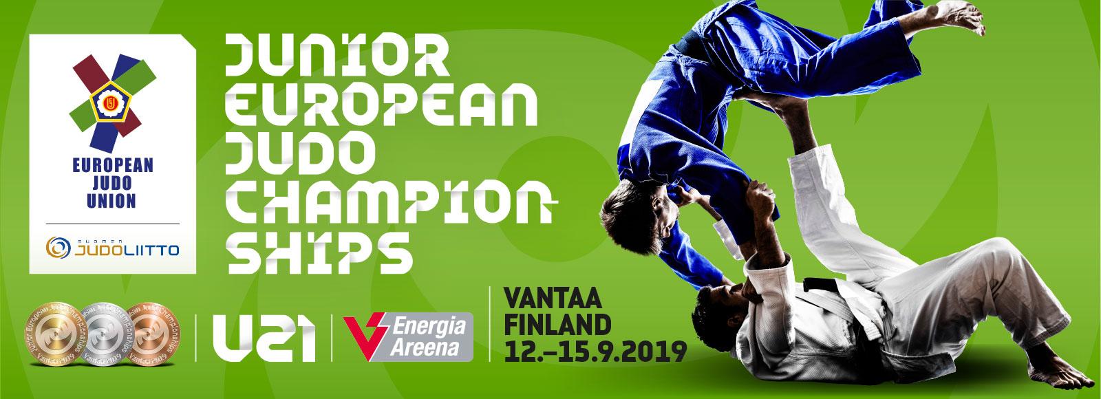 Nuorten Judon EM-kisat Vantaalla 2019